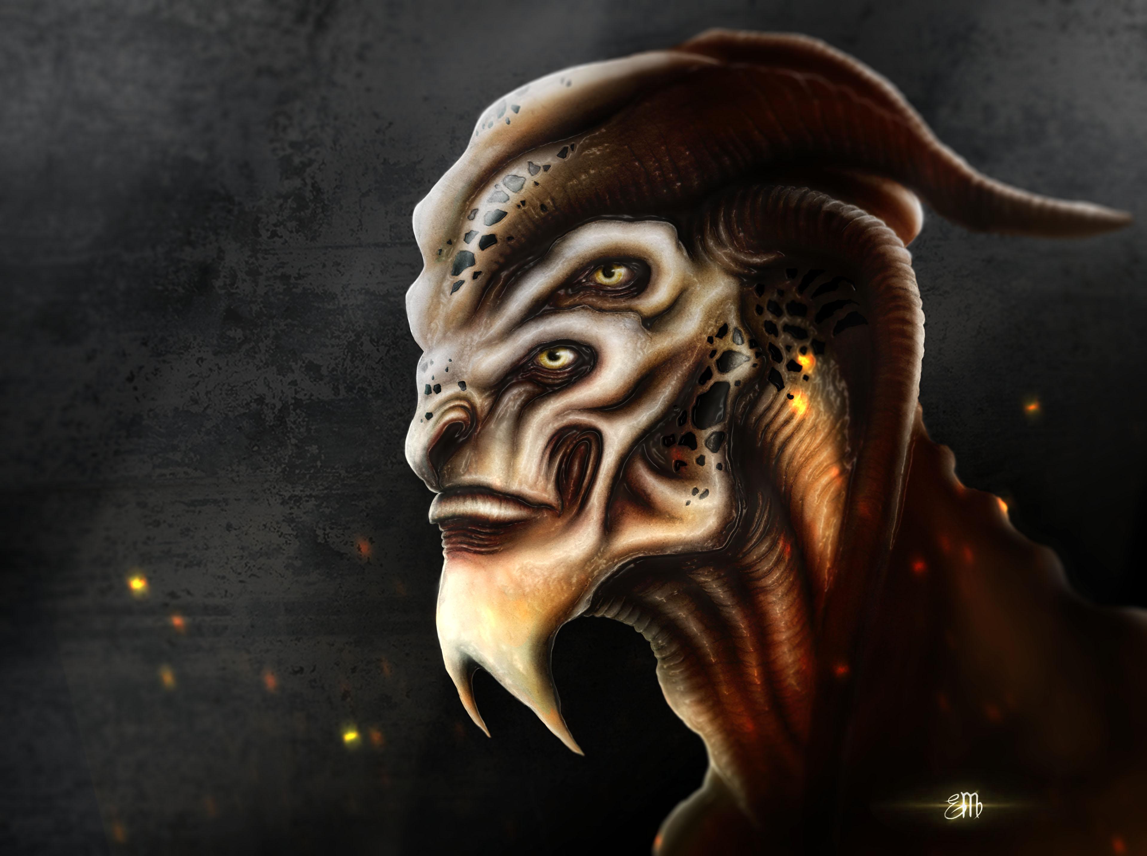 Alien Portrait 8