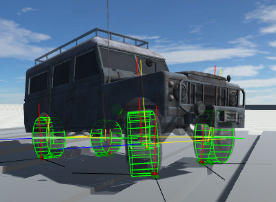 Wheel Controller 3D