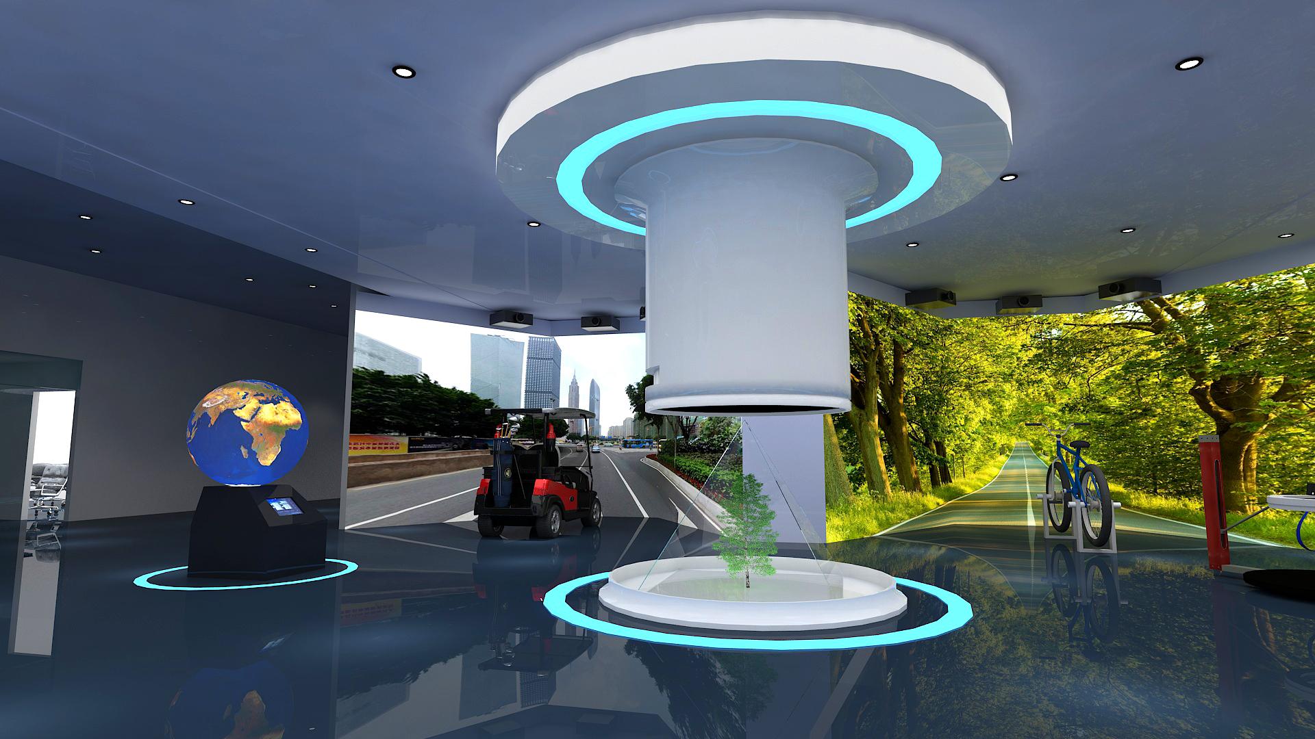 基于虚拟现实(VR)技术 展现城市地域特色的园林文化