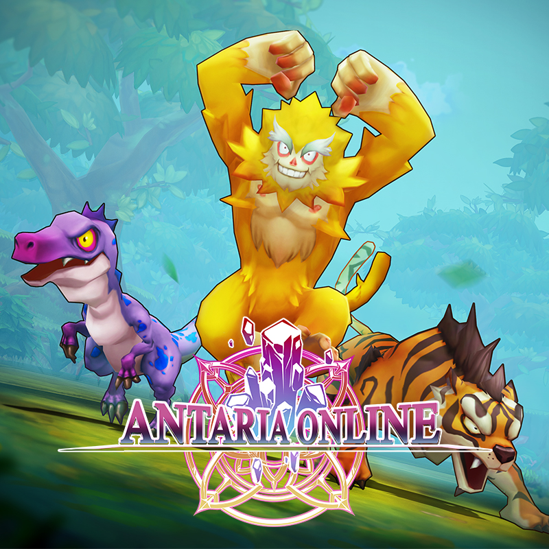 Antaria Online - Jungle Monster Pack