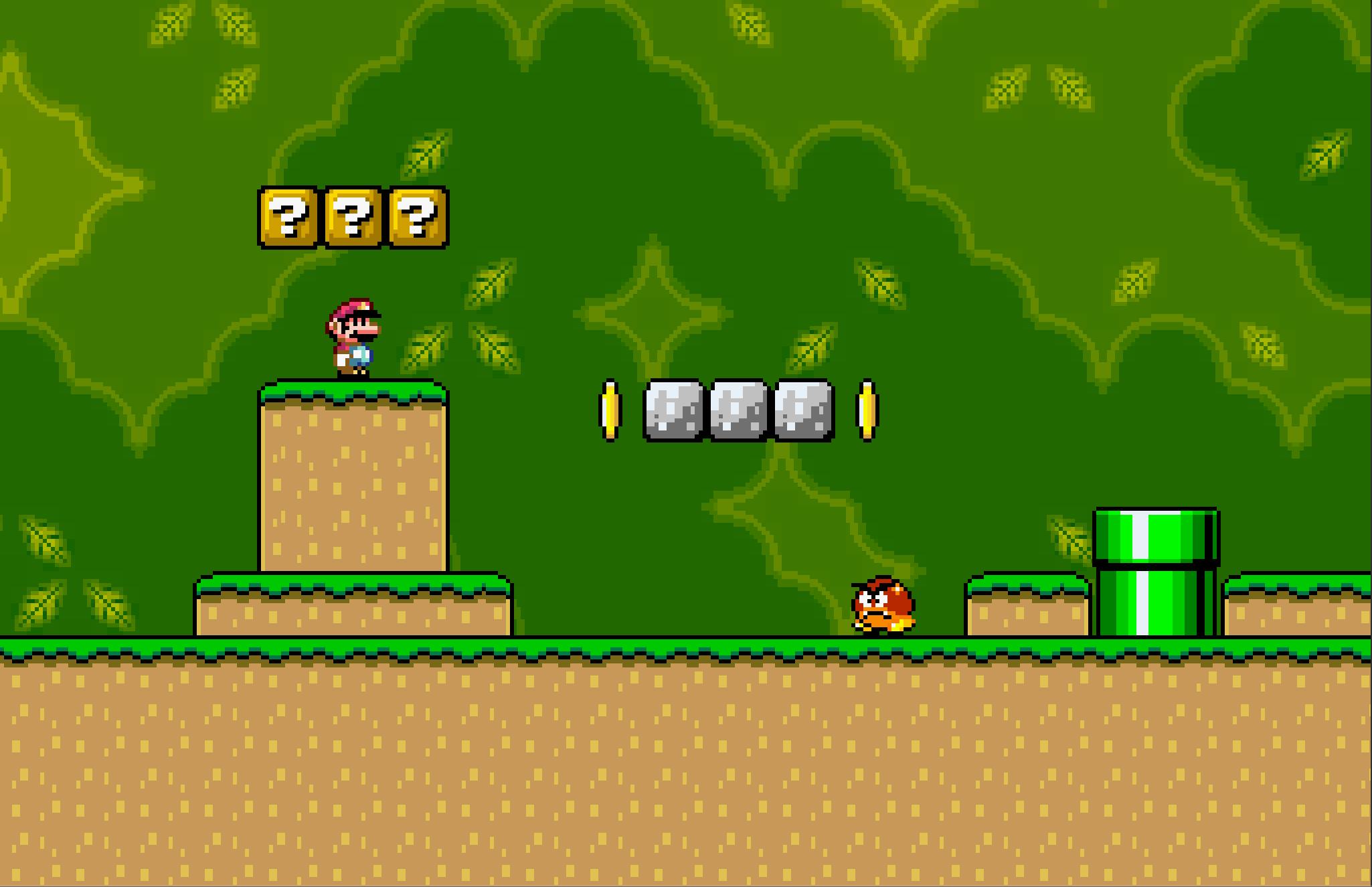 Super Mario World Clone