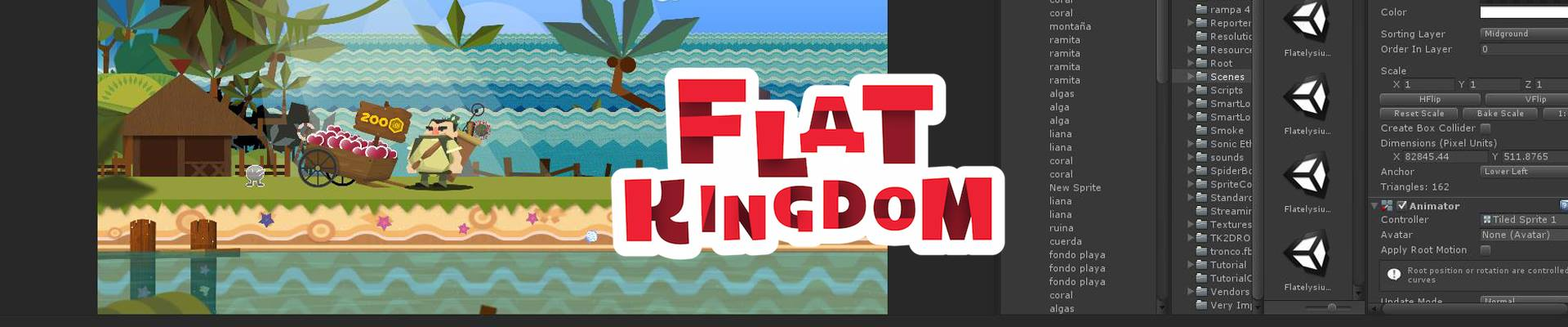 5 lessons I learned while developing our first game: Flat Kingdom.