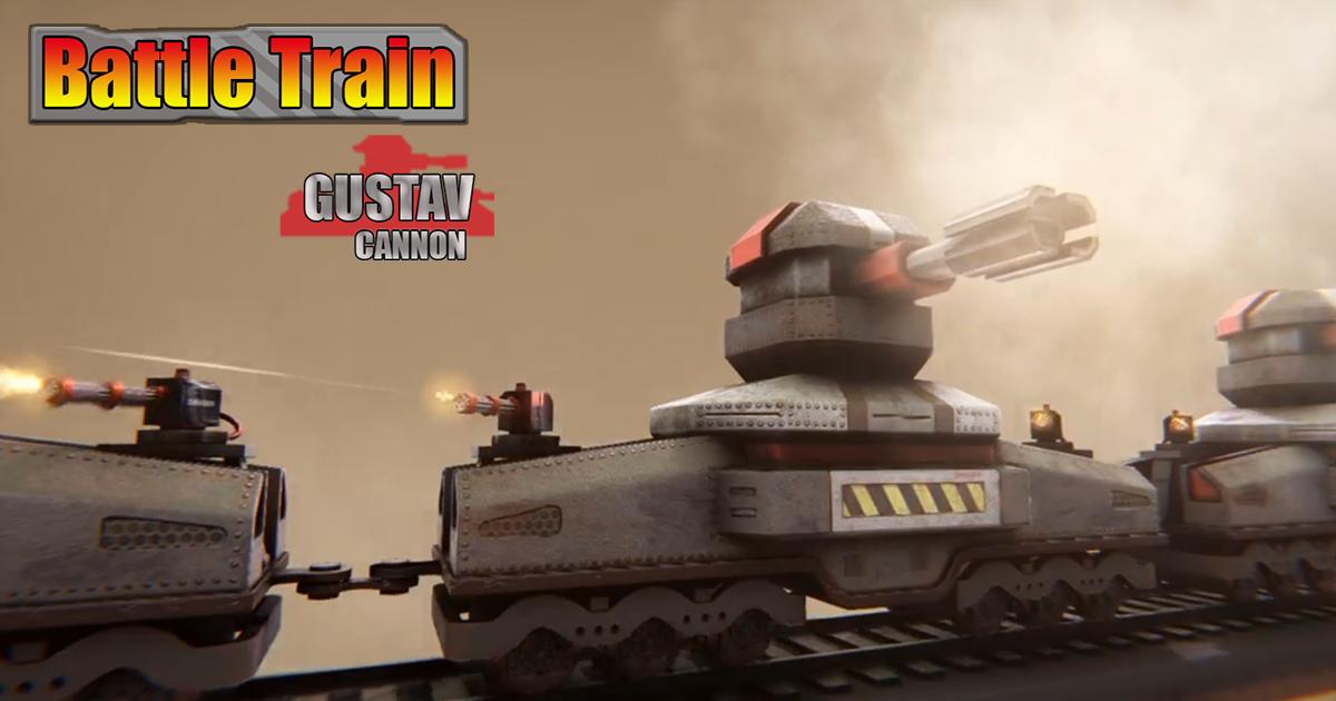 Battletrain Gustav Cannon