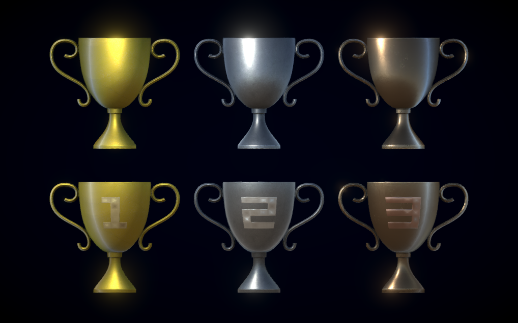PBR Trophies Pack