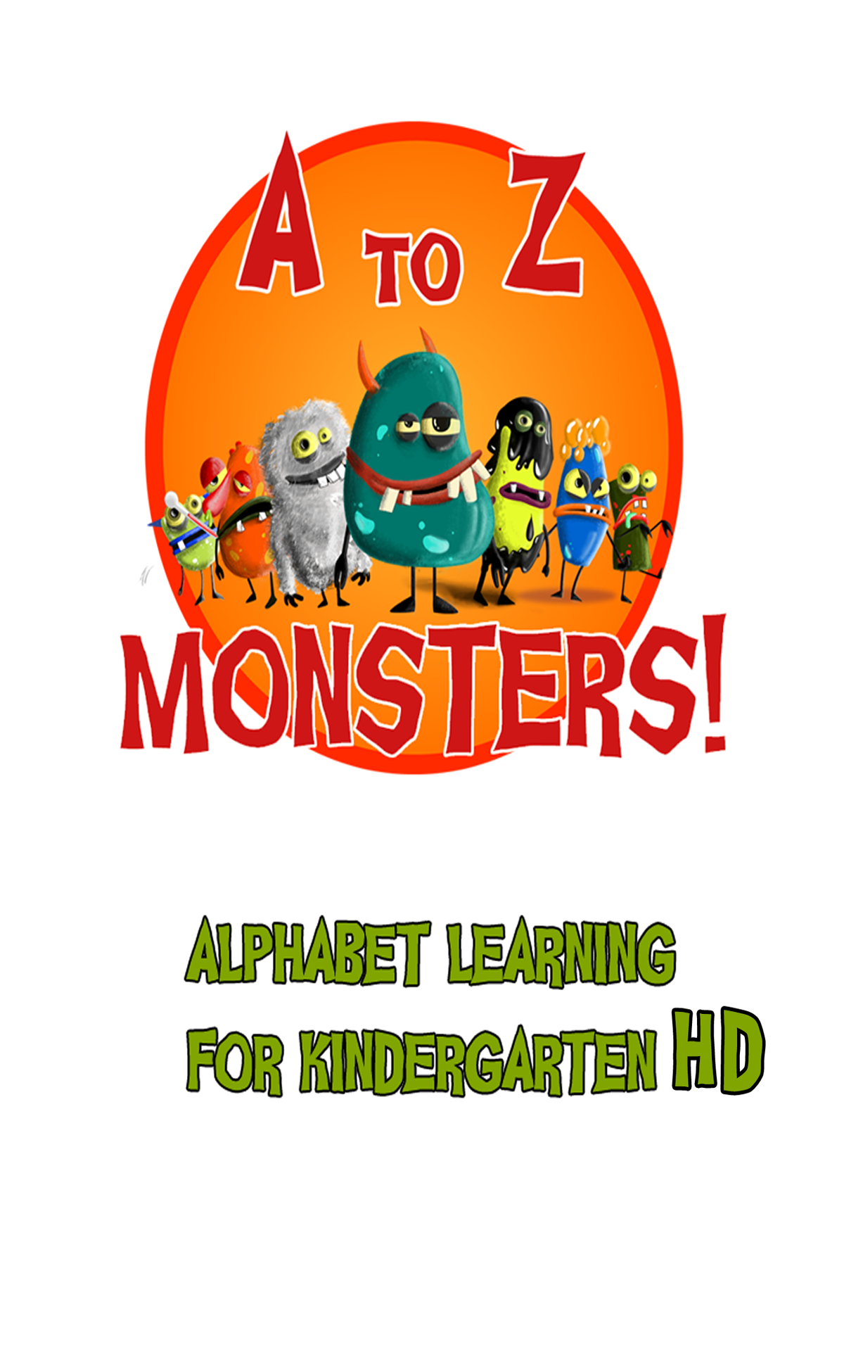 A-Z Monsters :alphabet Learning