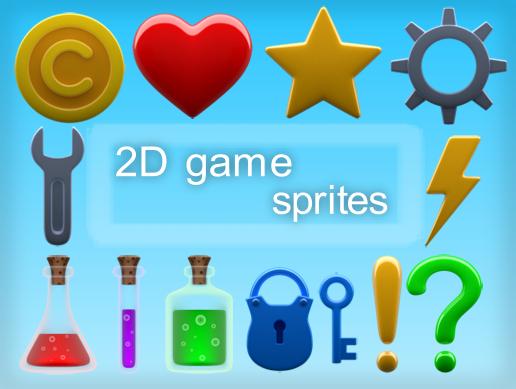2D game sprites pack