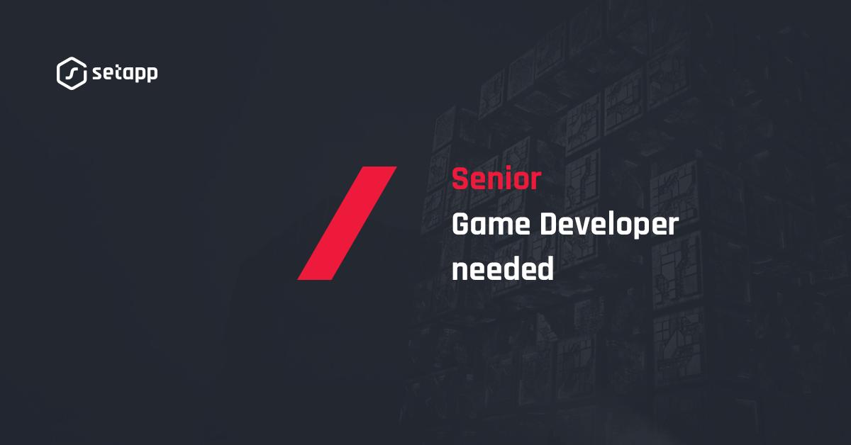 Senior Game Developer