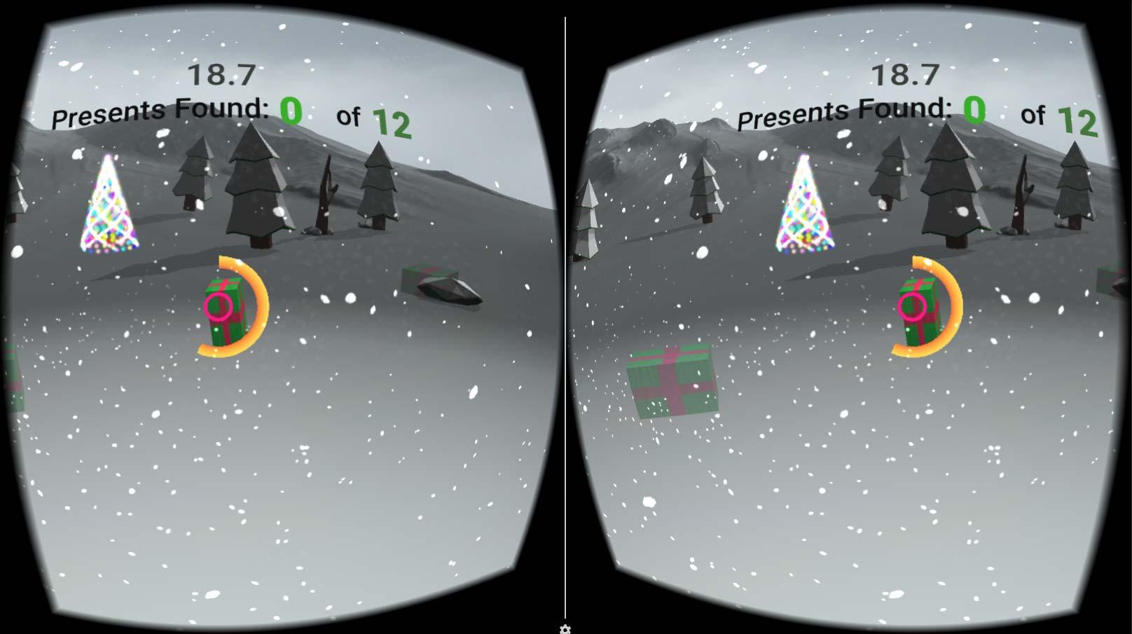 Present Hunt VR