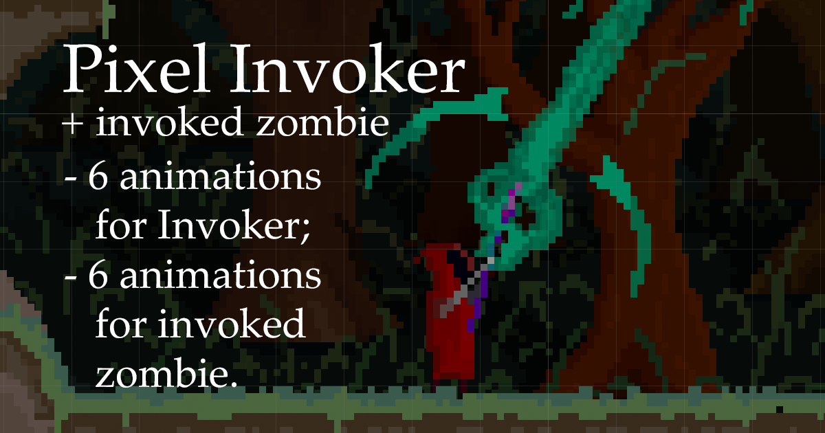 Pixel Invoker animations