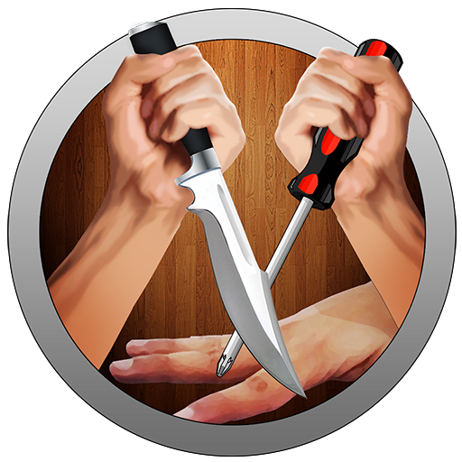 FINGER ROULETTE HD KNIFE GAME (IOS/ANDROID)