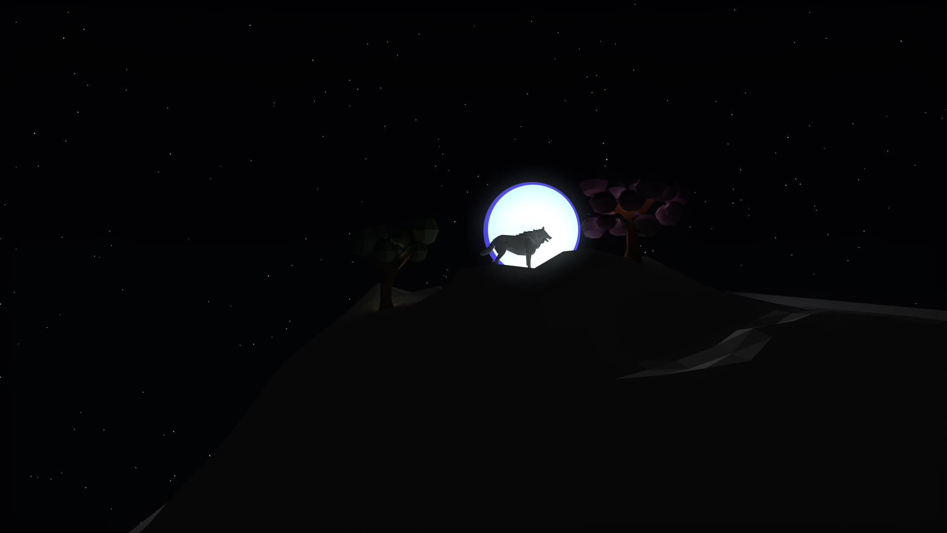 Wolf and the Moon