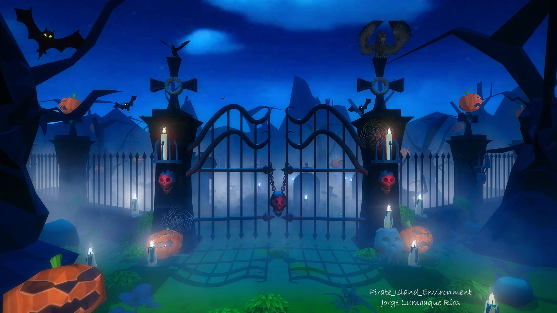 Halloween Environment