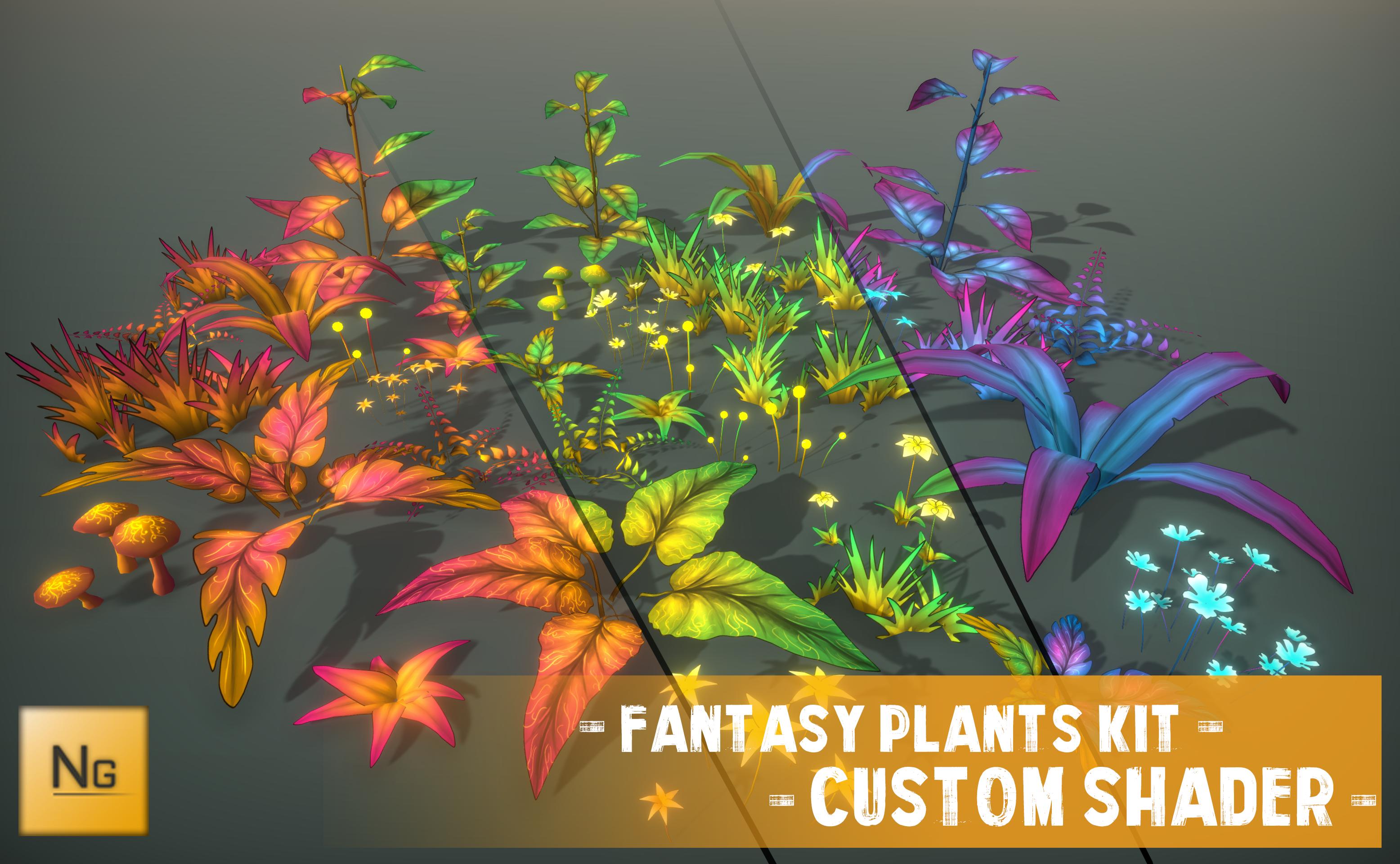 Fantasy Plants Kit
