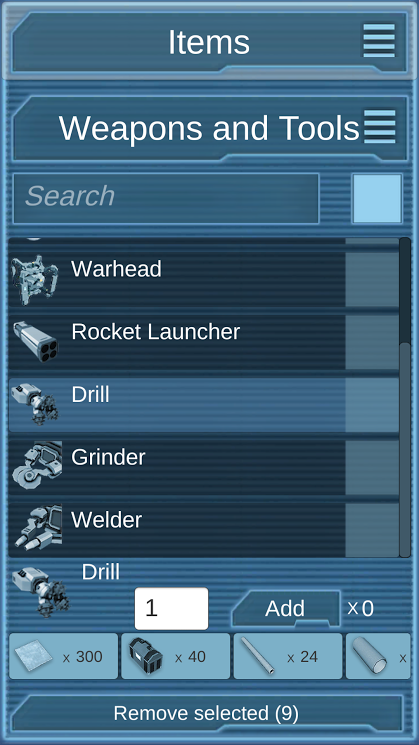 Space Engineers Calculator