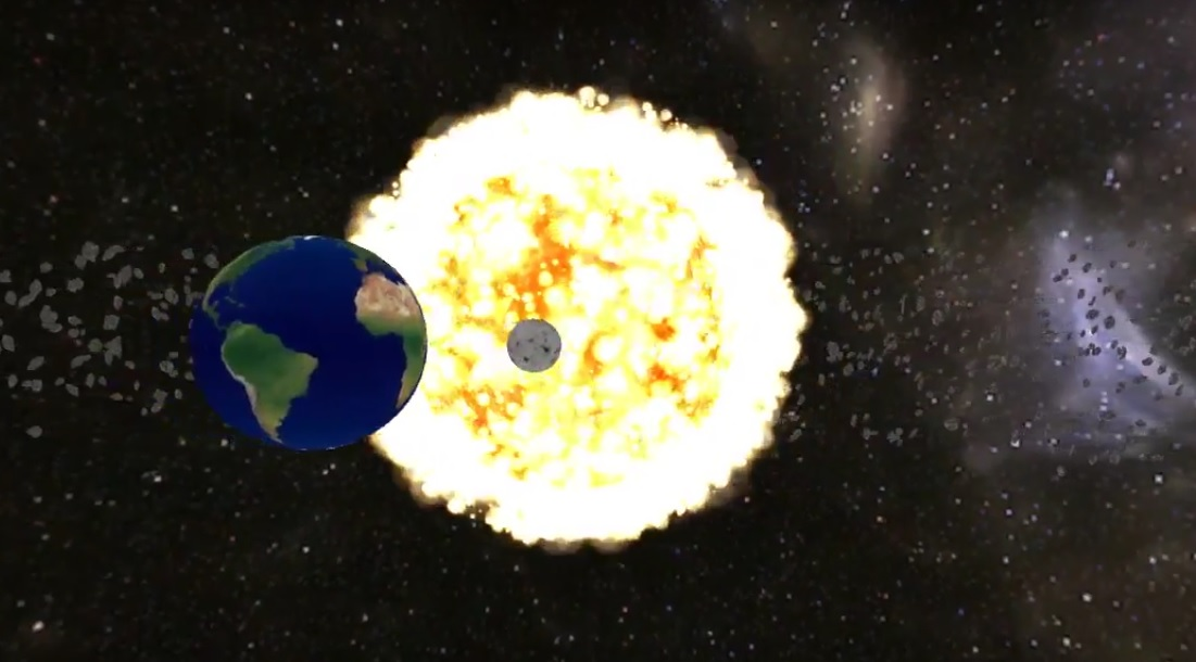 Solar System Unity 3d
