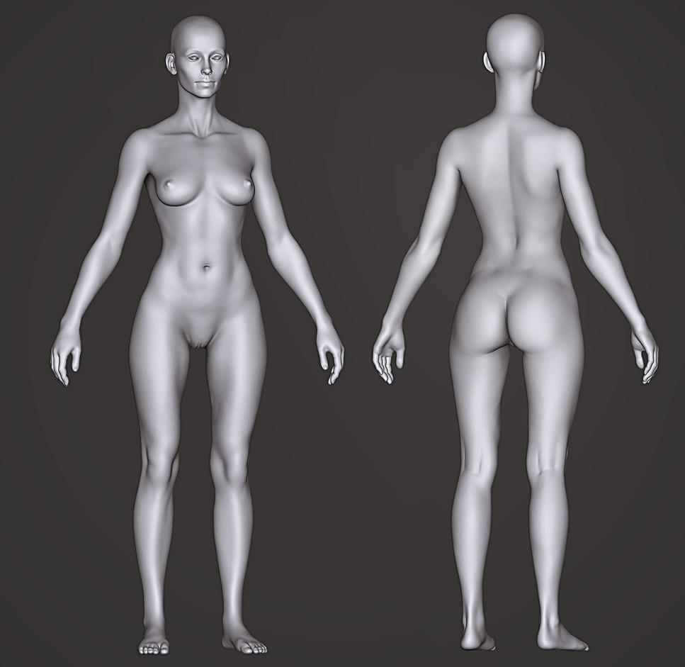 Female Sculpt