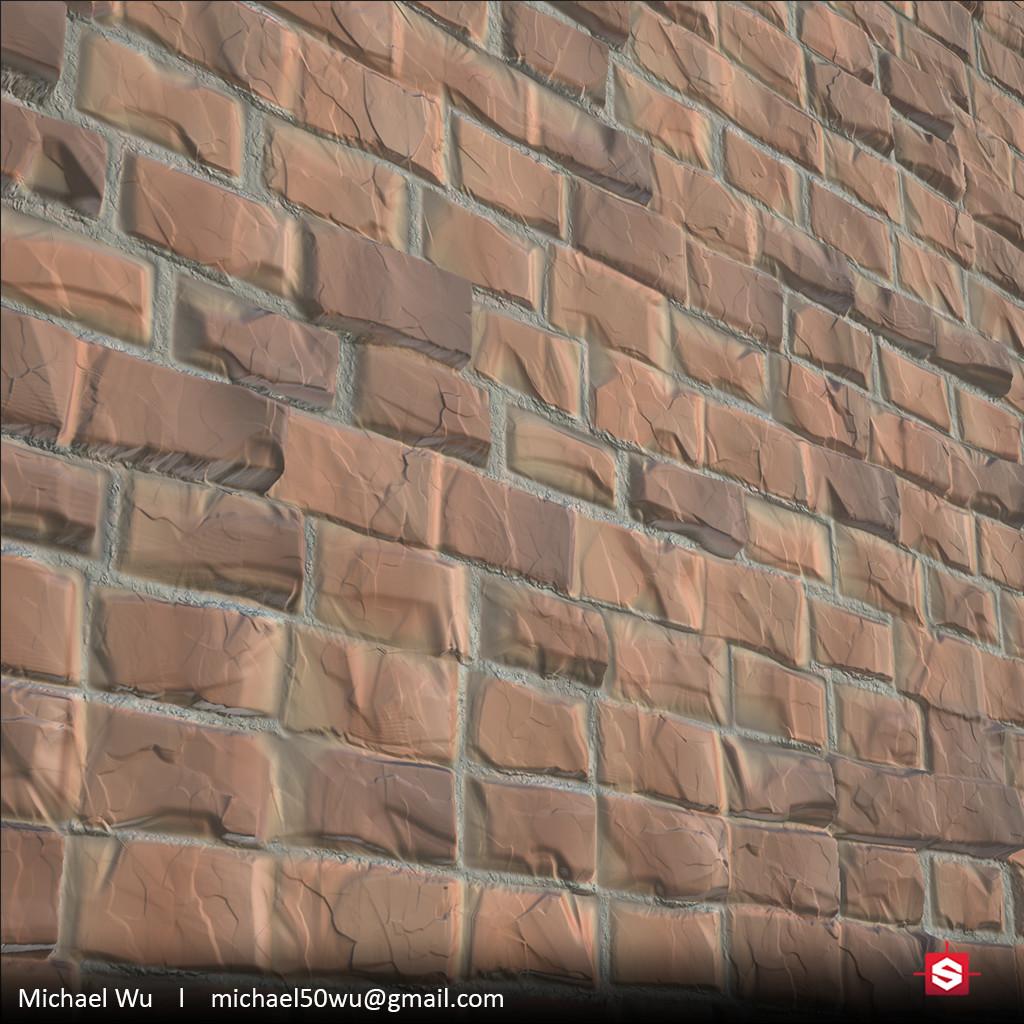 Stylized Brick Wall