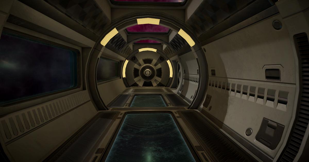 Modular sci-fi Residential sector B