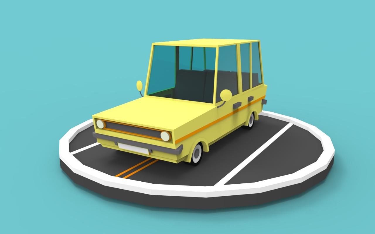 Lowpoly Car