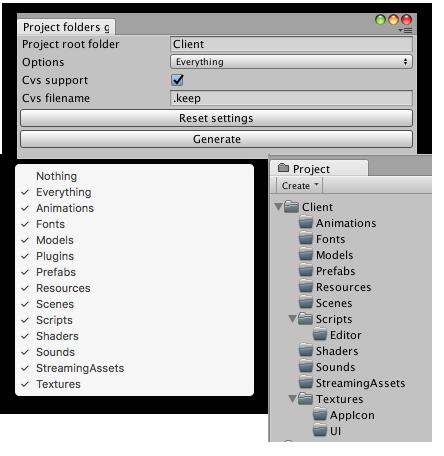 ProjectFoldersGenerator