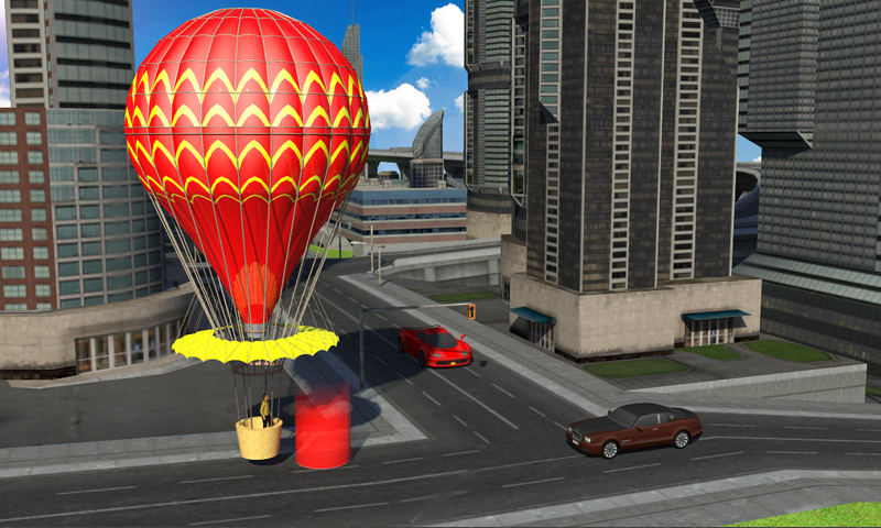 Futuristic Air Balloon