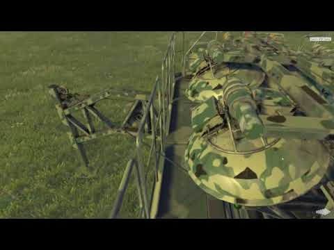 Military simulator VR