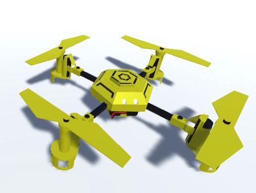 Realistic Drone