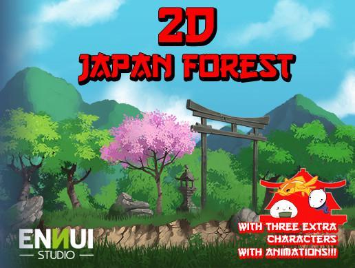 Japan Forest 2D - Asset Store