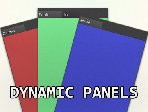 Dynamic Panels [Asset Store]
