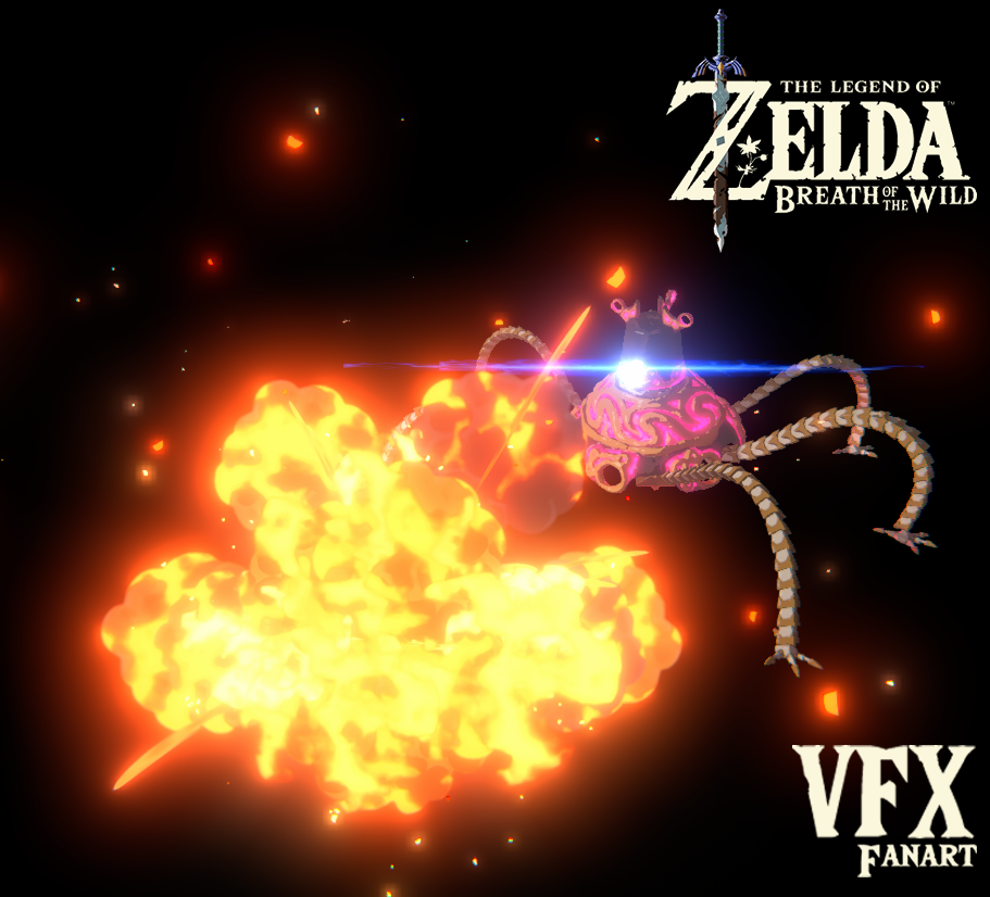 Zelda Breath of the Wild - VFX Fanart
