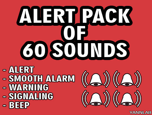 60 SOUNDS ALERT PACK  ONLY FOR $1