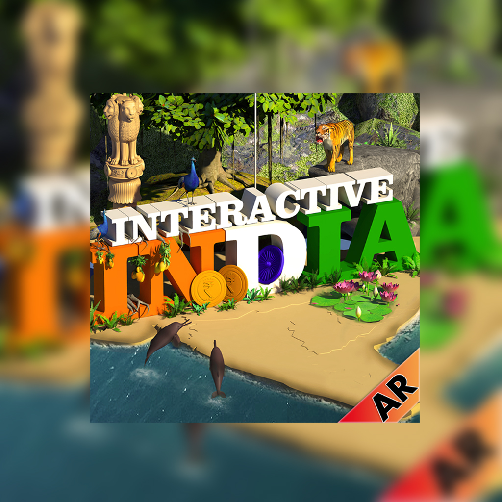 INTERACTIVE INDIA (Augmented Reality App)