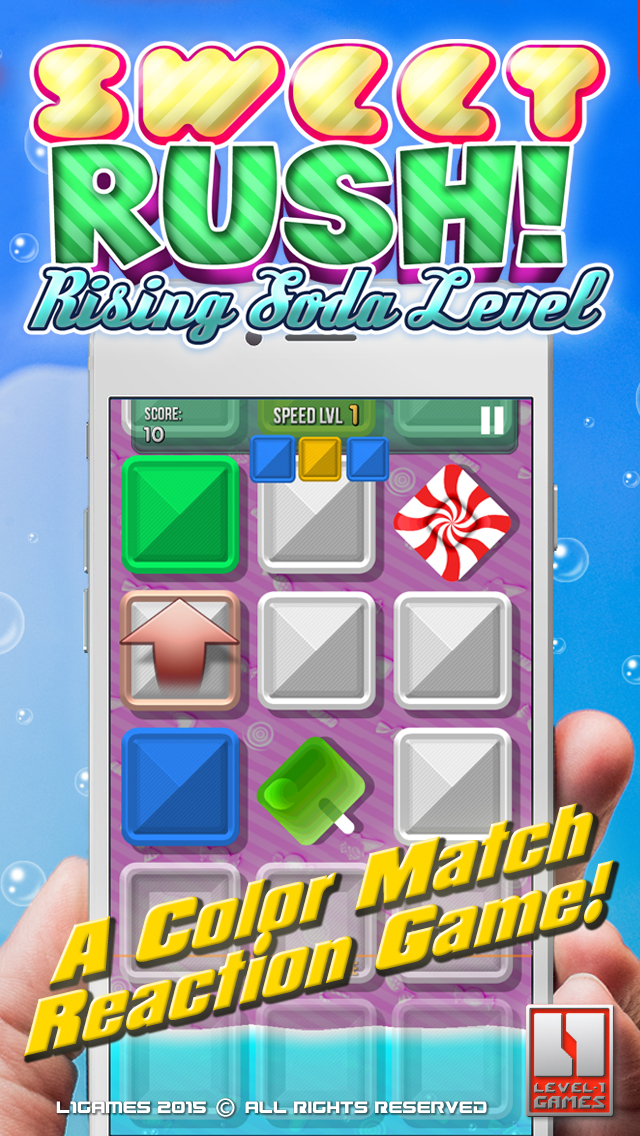 Sweet Rush: Rising Soda Level