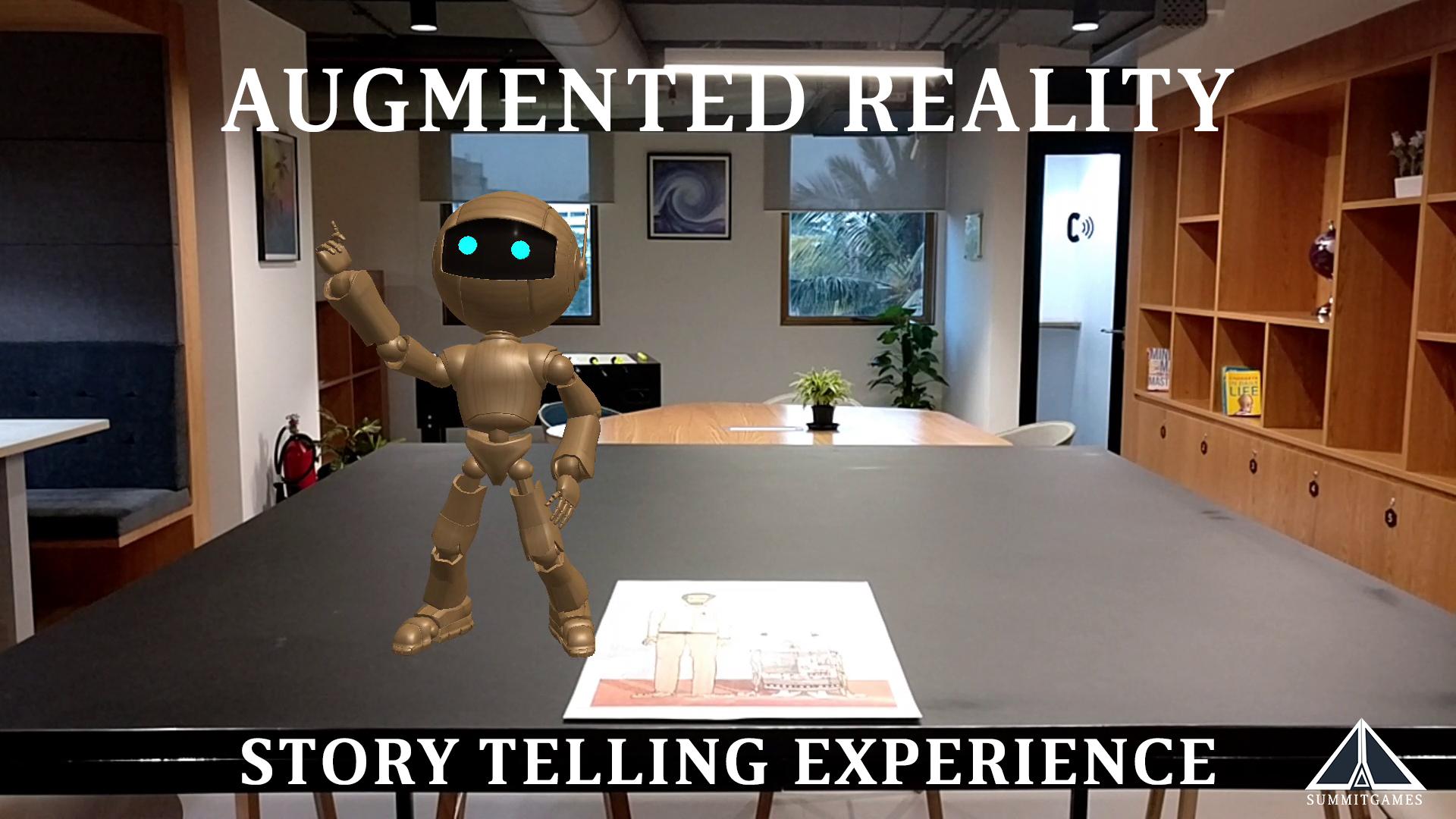 OKComputer - AR Story Telling Experience