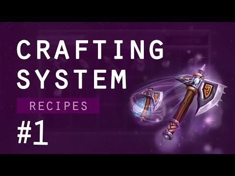 Crafting System tutorial