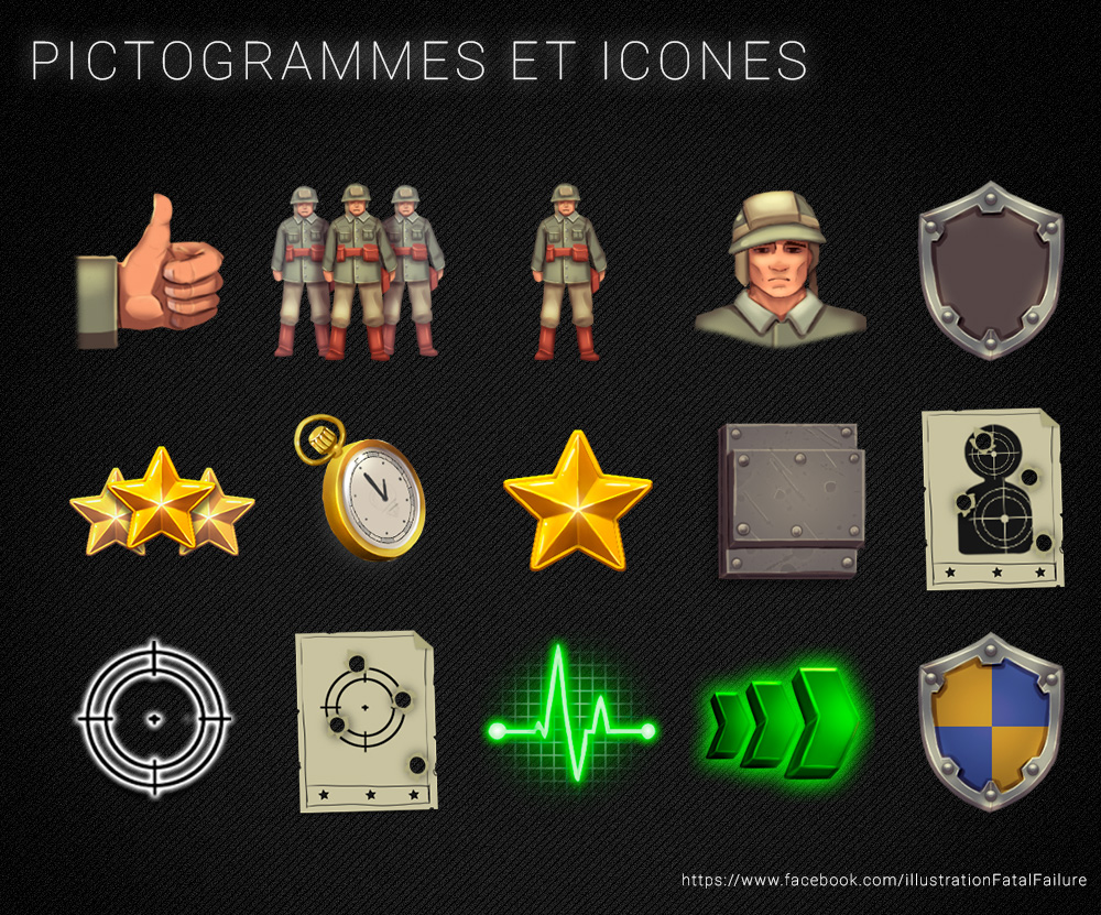 icons for wargame