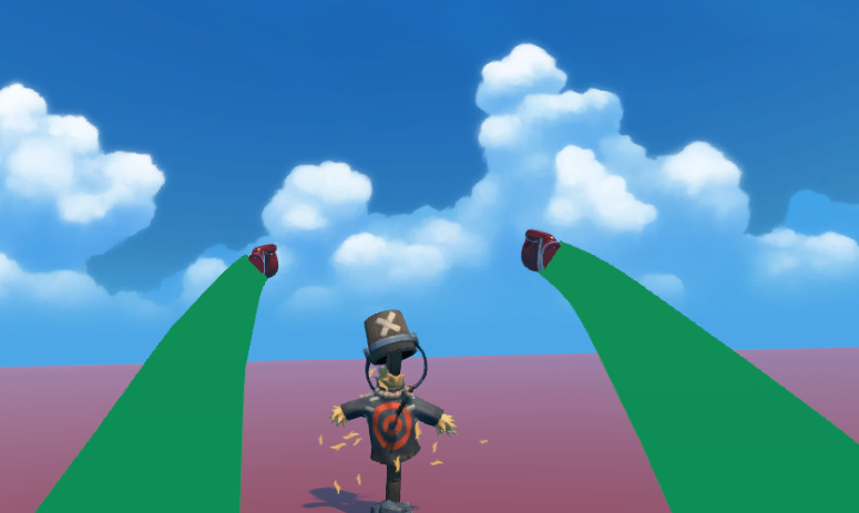 Arms in VR