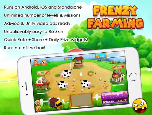 Frenzy Farming Game Kit