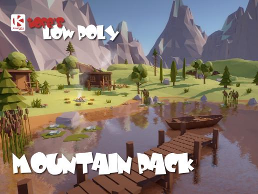Low Poly Mountain Pack