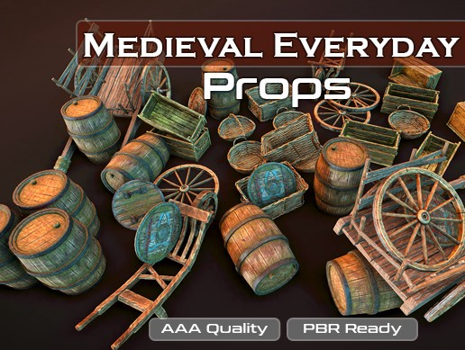 Medieval Everyday Props