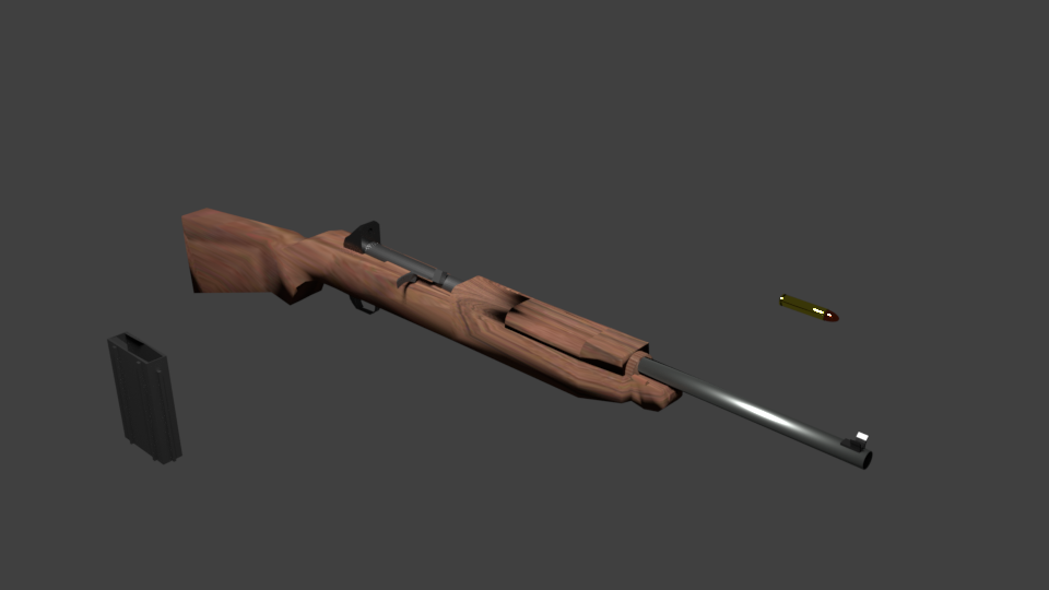 My 3D Modelling Weapons