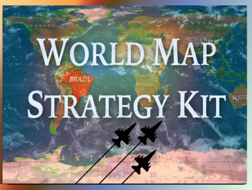 World Map Strategy Kit
