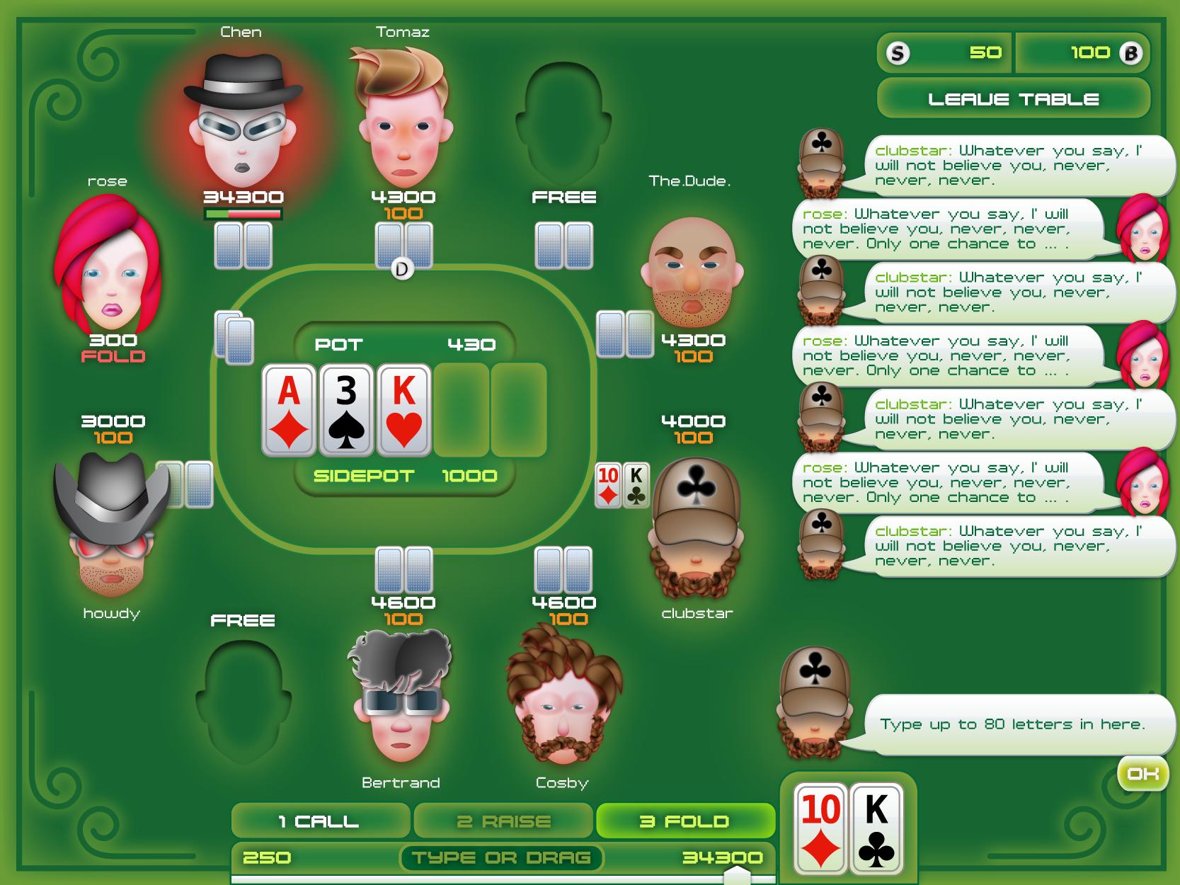 pokersaloon
