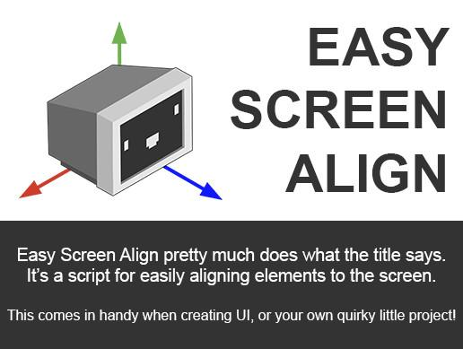 Easy Screen Align