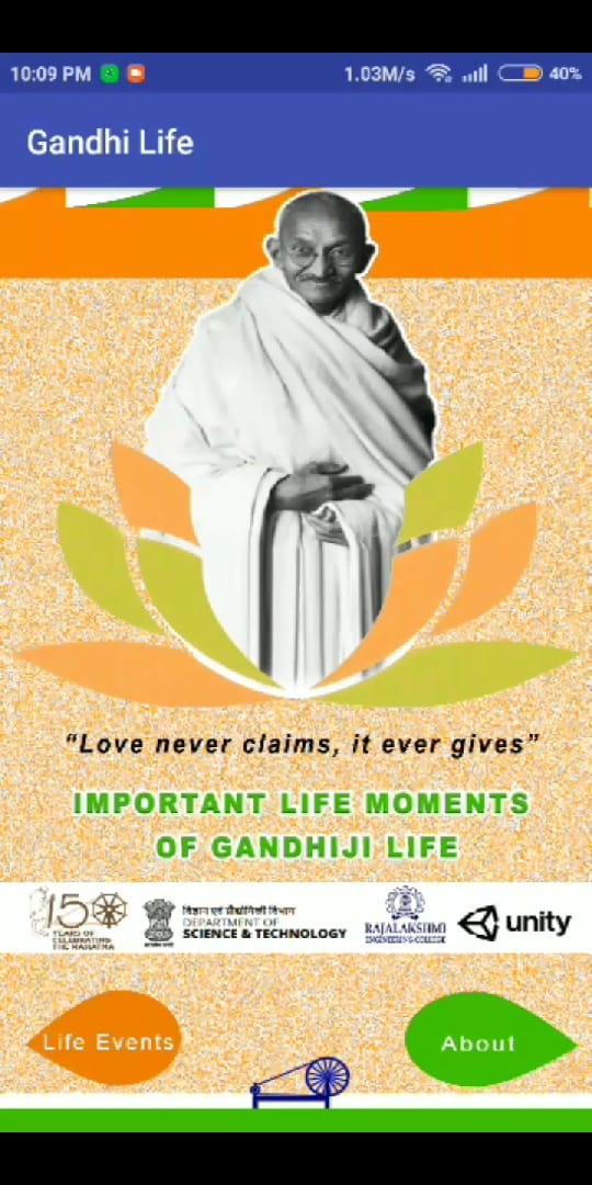 Important Life Moments of Gandhiji Life