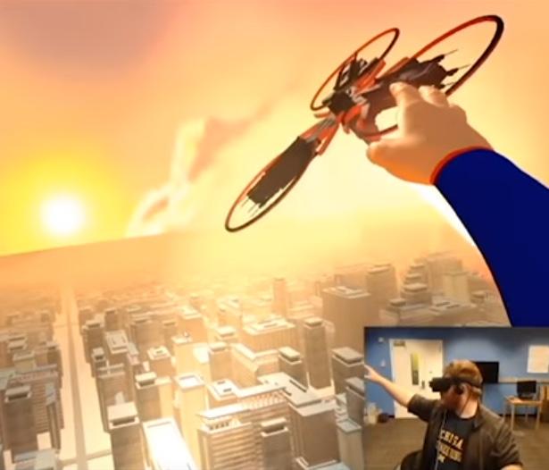 VR Game - Superman vs. Robots