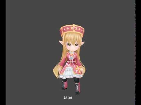 Elf Female Character_Pack