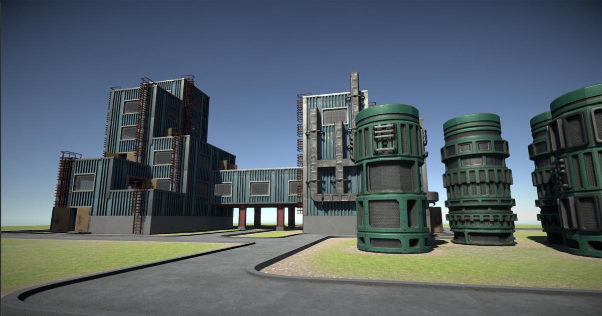 Modular factory environment A
