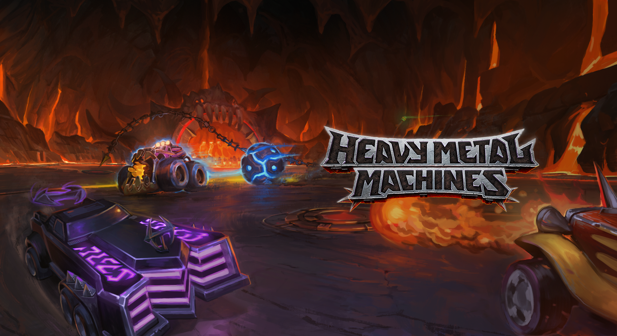 Chasing movement in Heavy Metal Machines