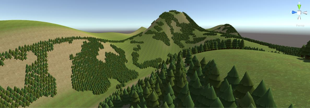 Procedual terrain